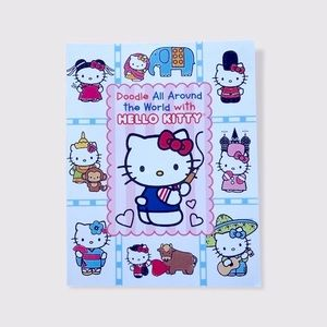 Hello Kitty Doodle Work Book